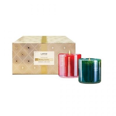 Lafco Holiday Candle Gift Set