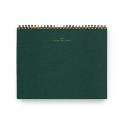 Appointed 2022 Weekly Task Planner