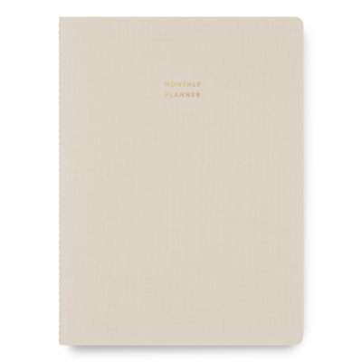 Appointed Undated Large Monthly Planner
