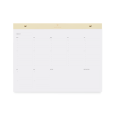 Appointed Appointed Undated Daily Desktop Planner