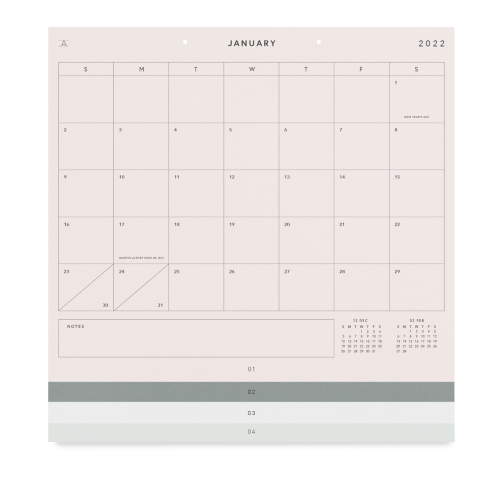 Appointed Appointed 2022 Studio Calendar