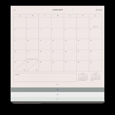 Appointed 2022 Studio Calendar