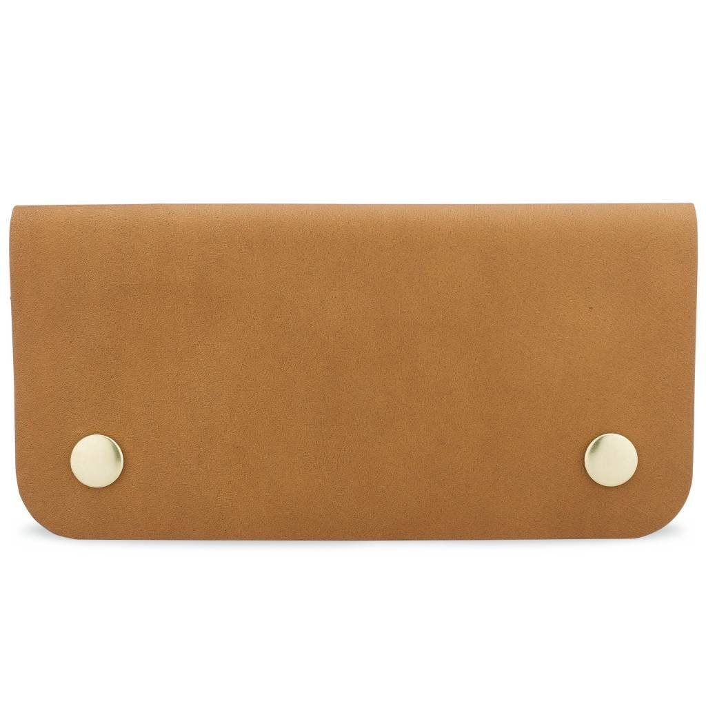 Leather Accordion Wallet