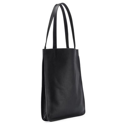 Leather Shopper Tote