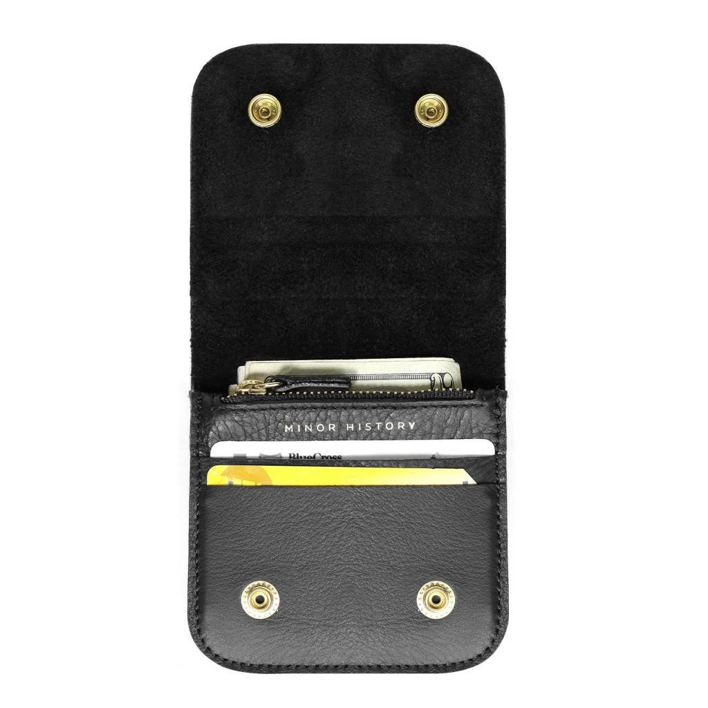Leather Square Wallet