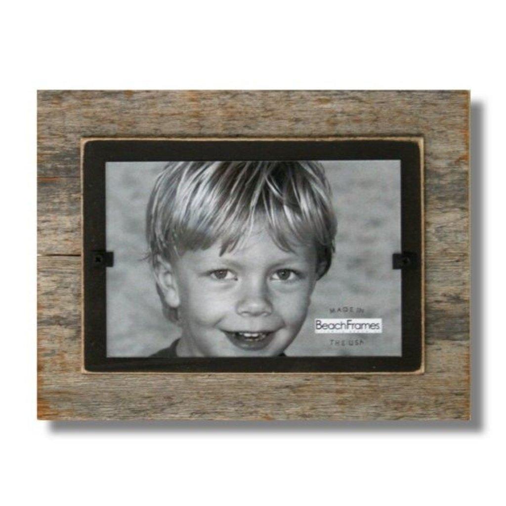 Beach Frames Frame 7X9 Reclaimed Wood Brown Backboard