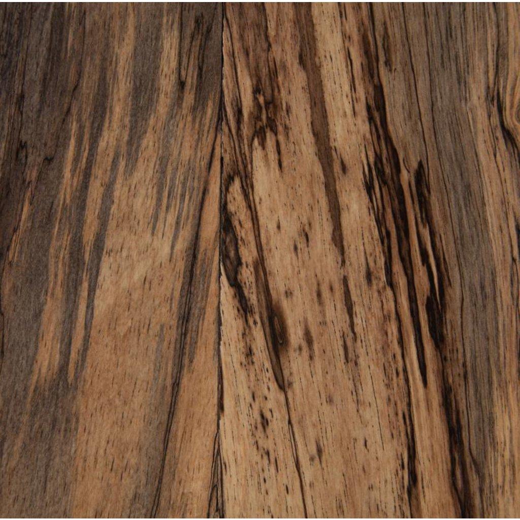 Slate Primavera Wood Side Table