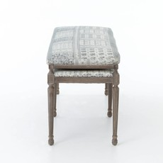 "Slate 67"" Batik Bench"