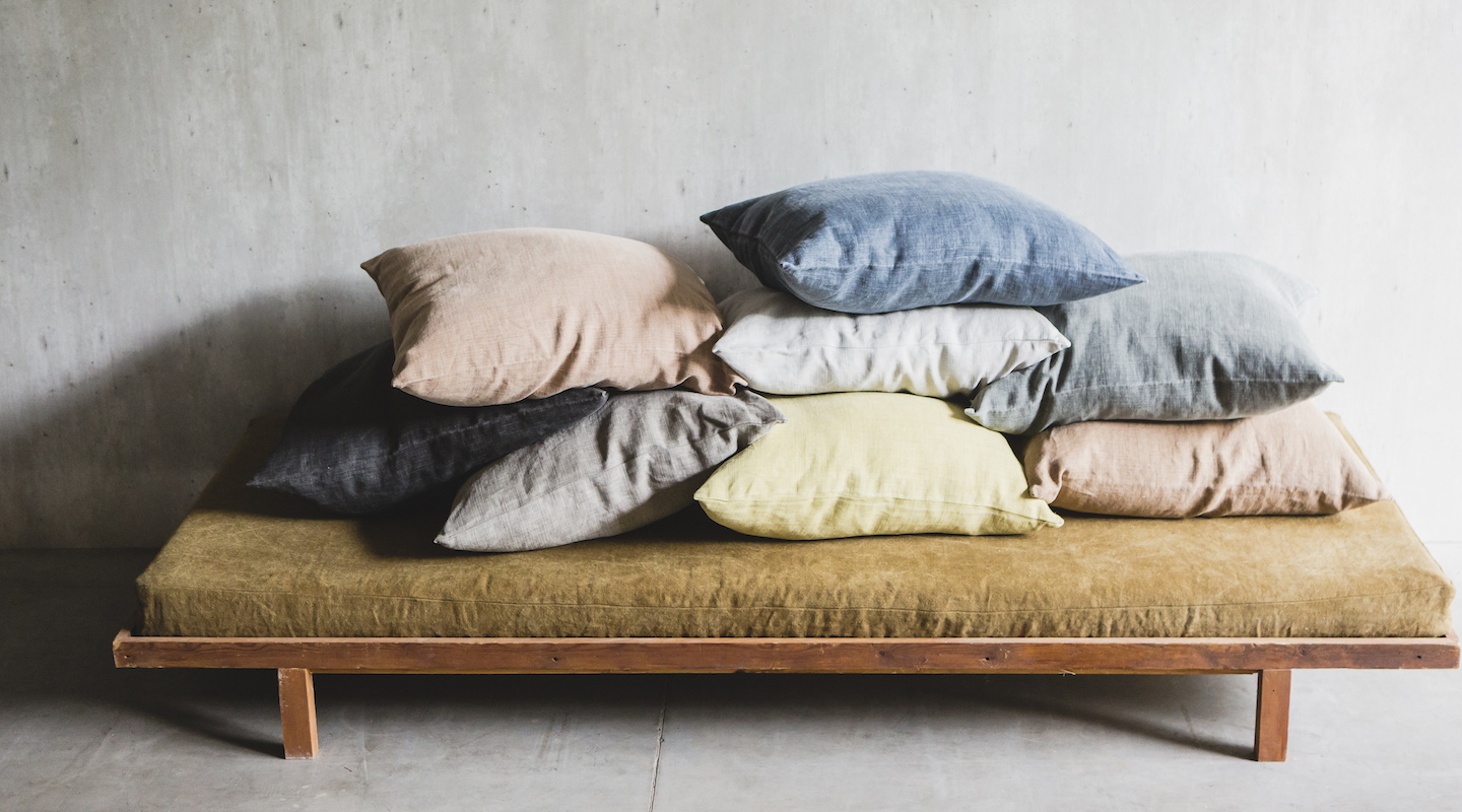Luxe linens for your home
