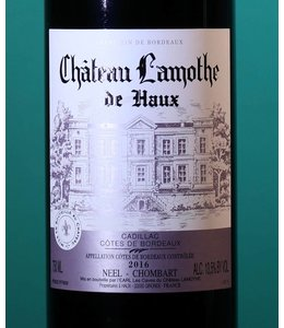Château Lamothe de Haux Cadillac-Cotes de Bordeaux Rogue 2016
