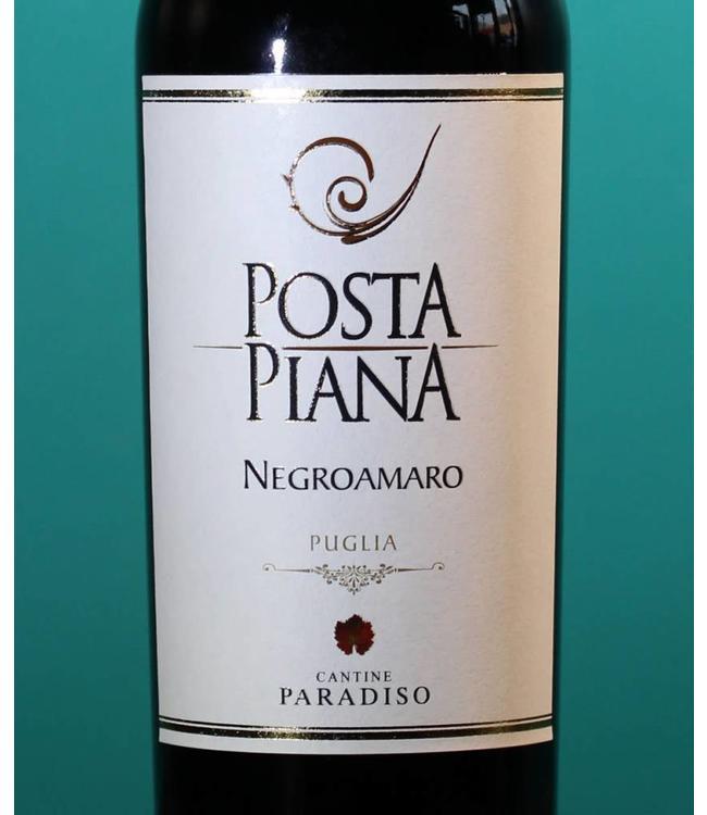 Cantine Paradiso, Posta Piana Negroamaro Puglia 2016