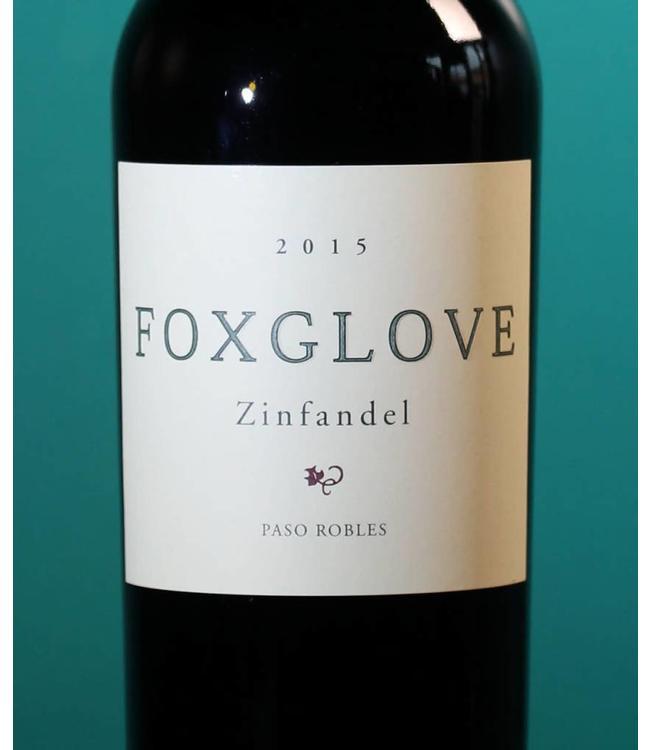 Foxglove, Paso Robles Zinfandel 2017