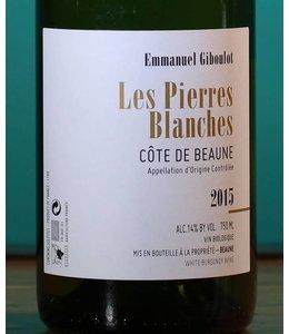 Domaine Emmanuel Giboulot, Côte de Beaune Blanc Les Pierres Blanches 2015