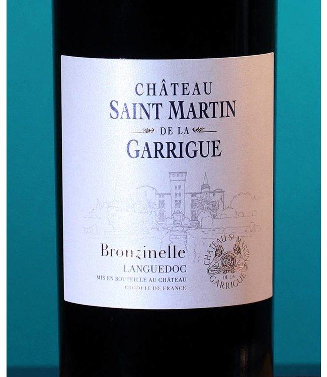 Château St. Martin de la Garrigue, Coteaux du Languedoc Bronzinelle Rouge 2017