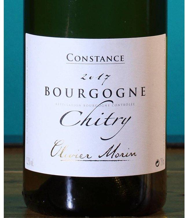 Olivier Morin, Bourgogne Chitry Constance 2017