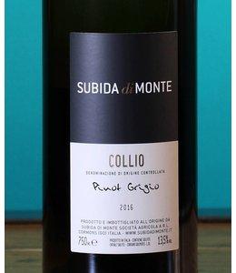 Subida di Monte, Collio Pinot Grigio 2017