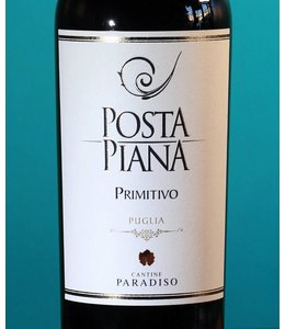 Cantine Paradiso, Posta Piana Puglia Primitivo 2018