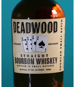 Proof & Wood, Deadwood Straight Bourbon (750)
