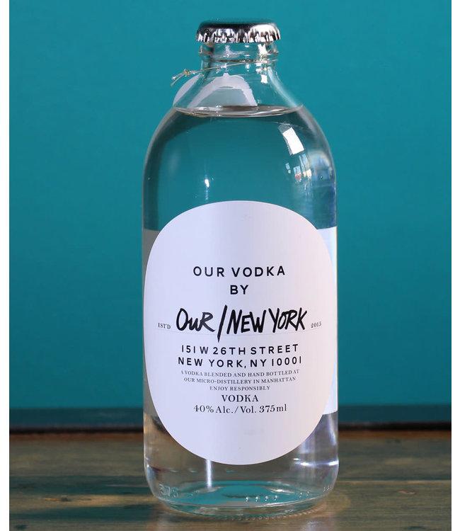 Our NY Vodka (375ml)