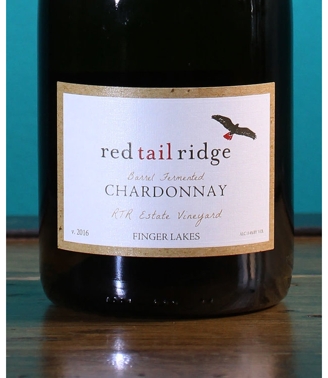Red Tail Ridge, Finger Lakes Chardonnay Barrel Fermented 2016