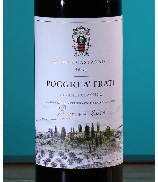 Rocca di Castagnoli, Chianti Classico Poggio a'Frati Riserva 2014