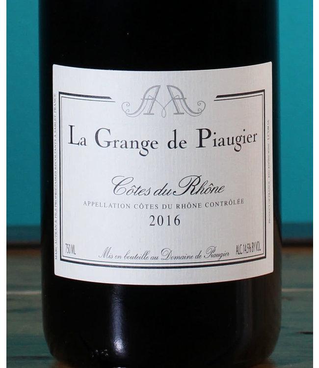 Domaine de Piaugier, Côtes du Rhône Rouge La Grange de Piaugier 2018