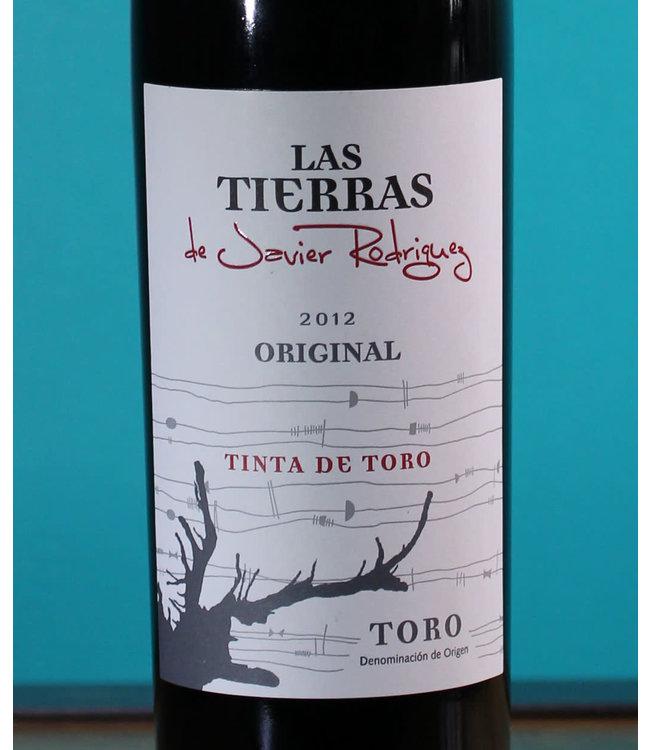 Las Tierras de Javier Rodríguez, Tinta de Toro Original 2012