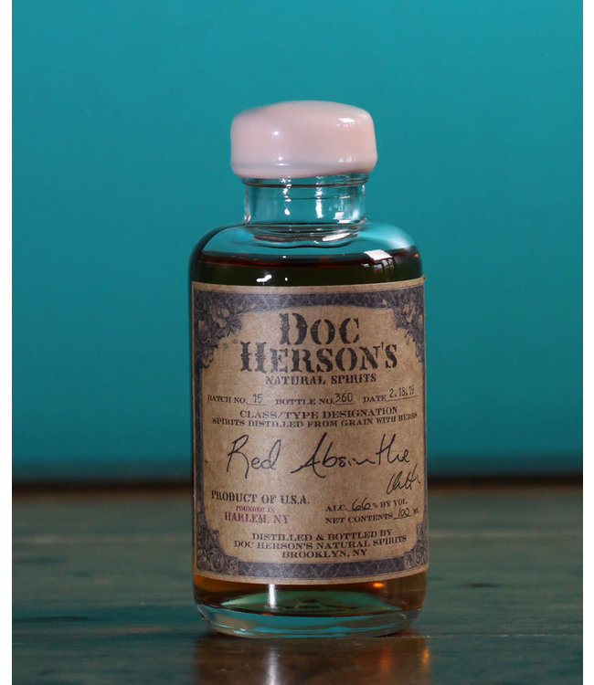 Doc Herson's Natural Spirits Red Absinthe 100 ml