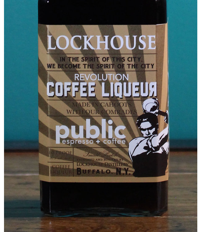 Lockhouse Distillery, Revolution Coffee Liqueur NV