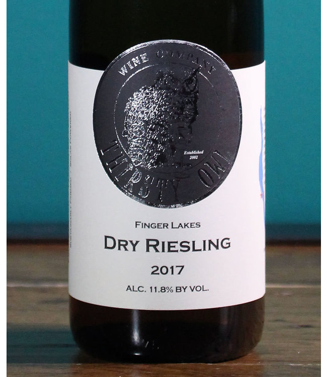 Thirsty Owl Wine Company, Finger Lakes Dry Riesling 2019