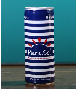 Mar and Sol Sangria 250 ml cans