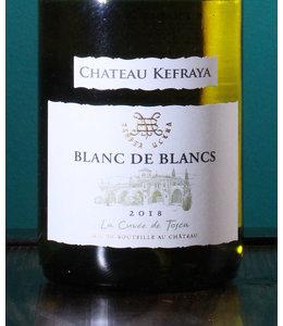 Château Kefraya, Blanc de Blancs 2019