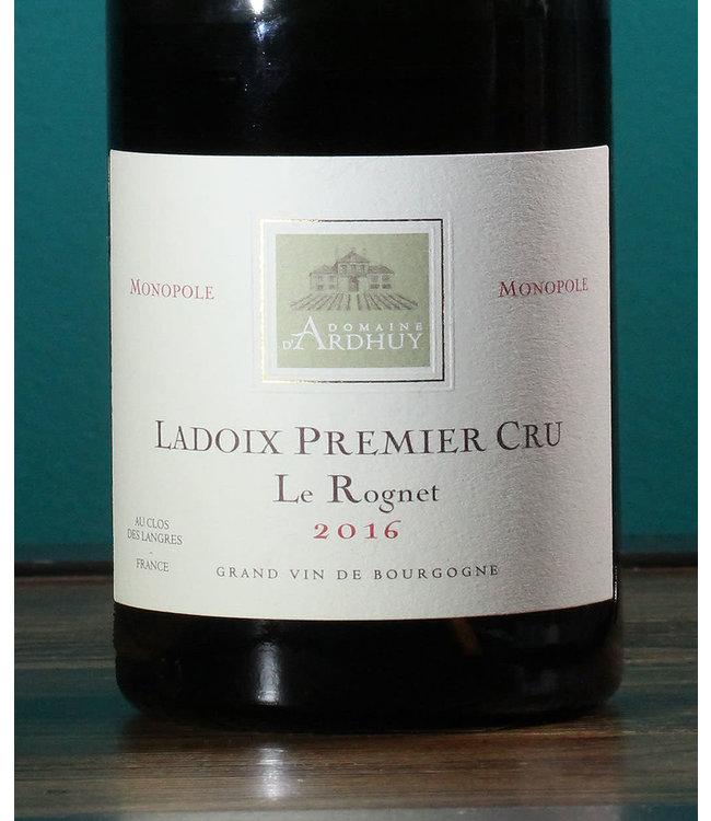 Domaine d'Ardhuy, Ladoix 1er Cru Le Rognet Monopole 2016