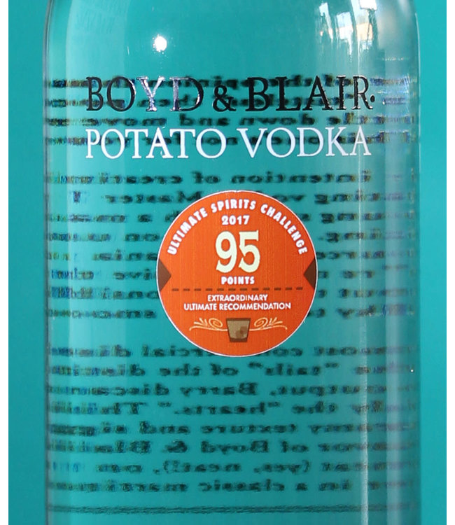 Boyd & Blair, Potato Vodka NV (1L)