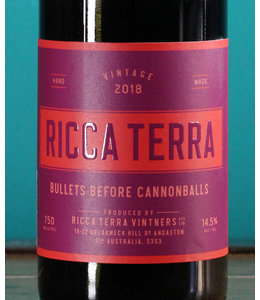 Ricca Terra Vintners, Bullets Before Cannonballs Riverland 2018
