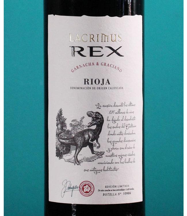 Lacrimus, Rioja Crianza Rex 2018