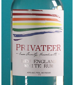 Privateer, Silver Reserve Rum Pride Label (1 Liter)