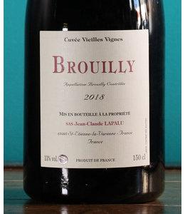 Jean-Claude Lapalu, Brouilly Vieilles Vignes 2018 (1.5L)