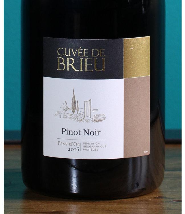 Brieu, cuvée de Brieu Pinot Noir 2018