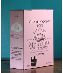 Château Montaud, Côtes de Provence Rosé 2019 (3L Bag in Box)
