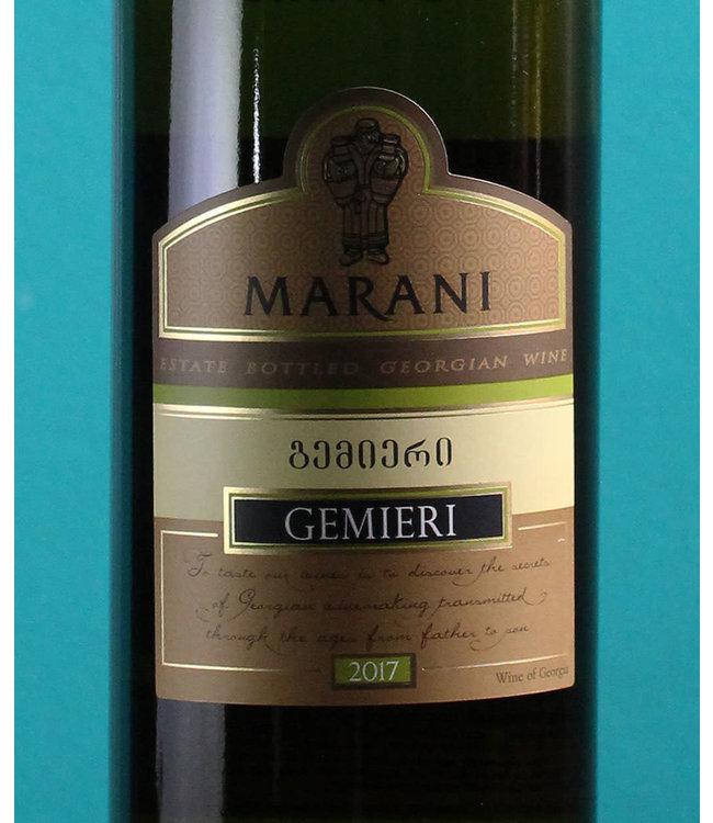 Marani Gemieri white - Semi Sweet 2017