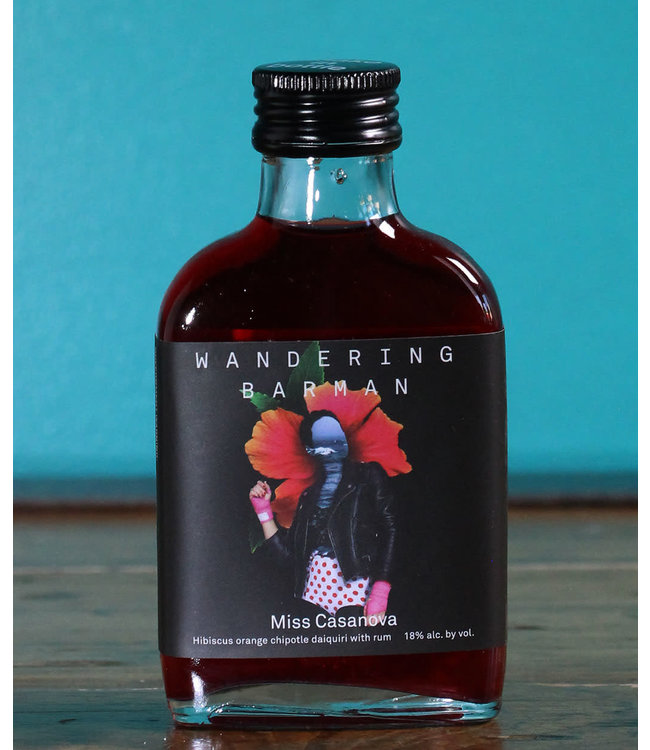 Wandering Barman, Miss Casanova Handcrafted Cocktail (100 ml bottle)
