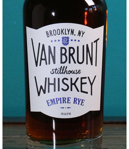 Van Brunt Stillhouse Empire Rye Whiskey