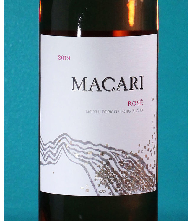 Macari Vineyards, Rosé North Fork of Long Island 2019