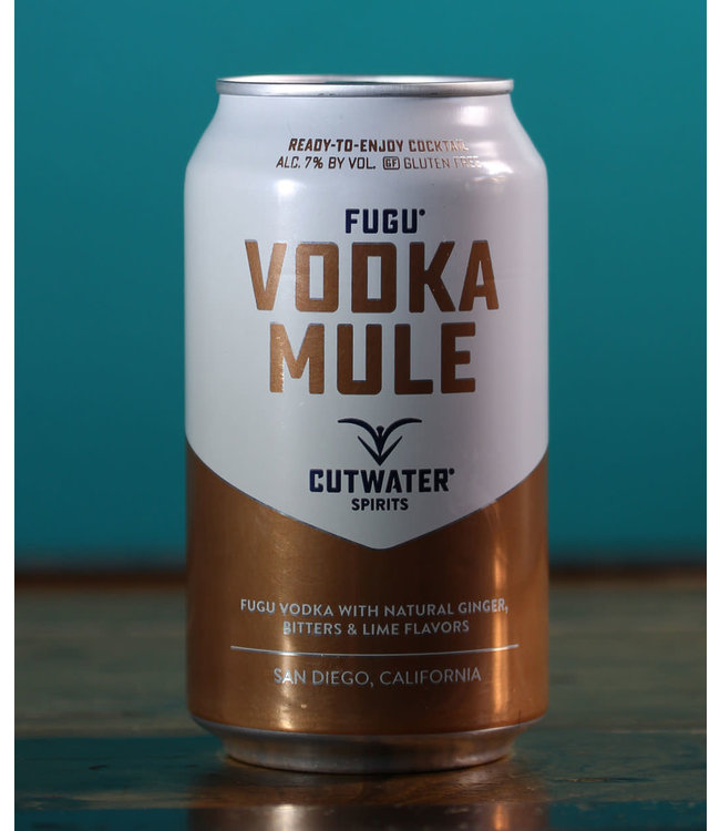 Cutwater Spirits, Vodka Mule (355ml can)