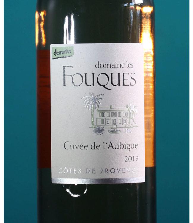 Domaine Les Fouques, Côtes de Provence Cuvée de l'Aubigue Rosé 2019