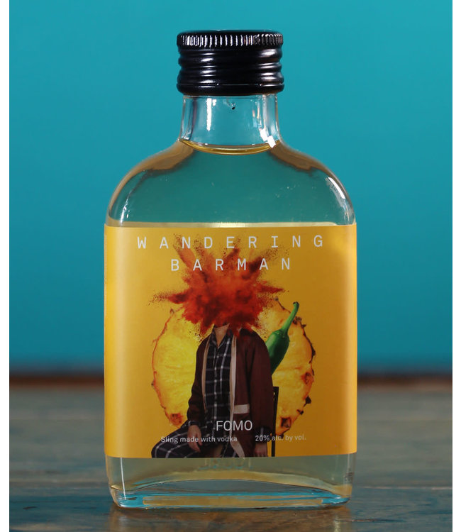 Wandering Barman, FOMO Handcrafted Cocktail (100 ml bottle)
