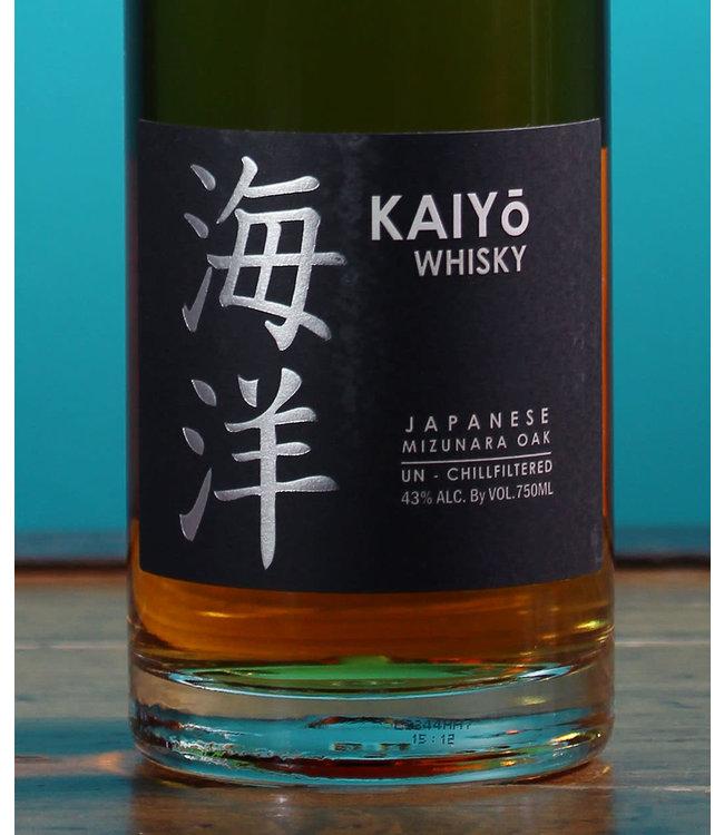 Kaiyo Whisky, Japanese Mizunara Oak Whisky