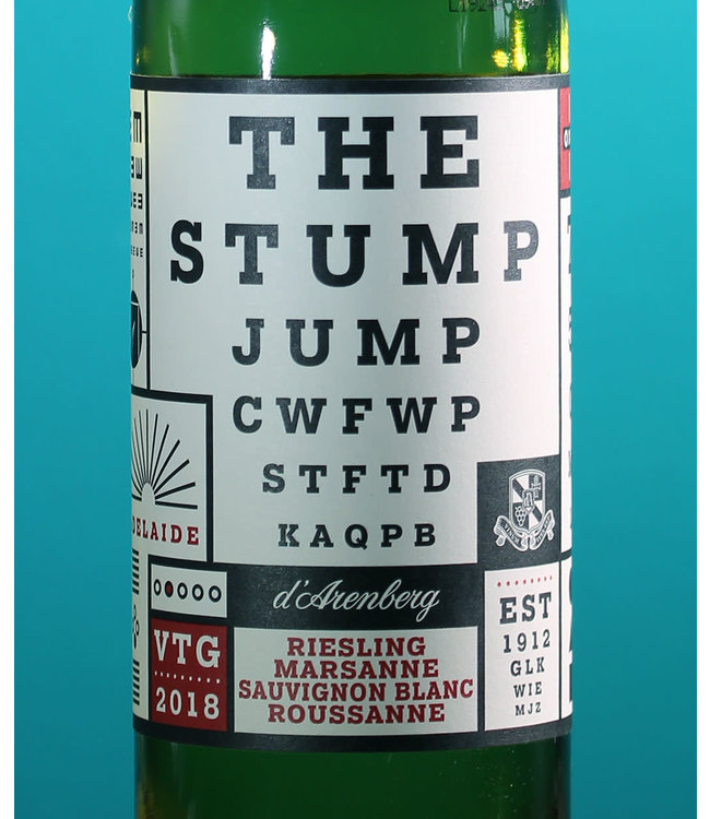 d'Arenberg, The Stump Jump White Blend McLaren Vale 2018