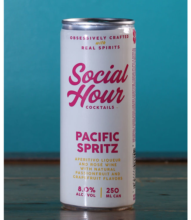 Social Hour Pacific Spritz (250 ml can)